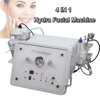 Wholesale microdermabrasion ultrasonic resale online - Diamond Microdermabrasion skin care treatment BIO ultrasonic microcurrent face lift hydra facial machine Hydra Dermabrasion oxygen therapy