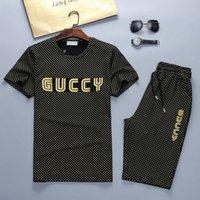 camisas de golf de diseño al por mayor-Diseño para hombre Chándales Ropa deportiva Trajes de jogging para hombre Camiseta de manga corta y pantalones cortos Primavera Verano Casual Marcas Unisex Ropa deportiva Set N