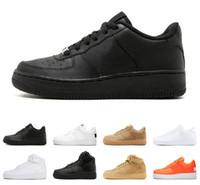 schwarze high-plattform-turnschuhe groihandel-Herren Freizeitschuhe One 1 Dunk Utility Chaussures Schuhe Skateboarding Schwarz Weiß Orange Weizen Damen Herren High Low Cut Trainer Platform Sneaker