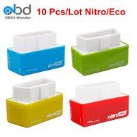 yonga kutuları toptan satış-10 Adet / Parti Ecoobd2 Nitroobd2 Chip Tuning Box Benzin Dizel Otomobil DAİREMİZ Eko obd2 Nitro obd2 İyi Chip Tarayıcı Kaydet Yakıt
