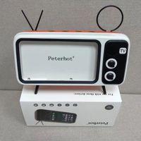 telemóvel iphone venda por atacado-Peterhot PTH800 Tocar Telefone Celular e Relógios do Computador Do Bluetooth Speaker Bass TV Speaker Amplificador de Telefone Celular Ao Ar Livre Pequeno Som