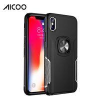 fälle für sumsung groihandel-AICOO Magnetic Hinterbauständer Hybrid Mobile Case Business-TPU PC-Silikon-Hülle für das iPhone 11 pro MAX XS Max Sumsung note10 Plus-A20S für Huawei