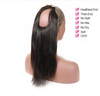 360 Lace Frontal Pre Plucked With Baby Hair Straight Peruvian Remy Hair Human Hair CLosures For Black Women