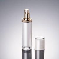 ingrosso bottiglie di pompa del siero-300pcs bottiglia della lozione della pompa acrilica 120ml usata per il siero / lozione / emulsione / fondamento Contenitore cosmetico