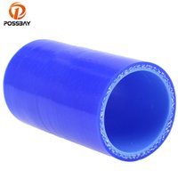 Wholesale silicone hose reducer resale online - POSSBAY Universal mm Straight Constant Diameter Hose Reducer Tube Blue Silicone Fuel Oil Water Hose