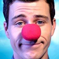 ingrosso decorazioni per la festa di mascherata rossa-HOT 1 PZ Decorazione di Nozze Party Sponge Ball Red Clown Naso magico per la decorazione di Halloween festa in maschera