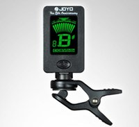 Wholesale 100pcs Digital LCD Clip on Tuner for Chromatic Guitar Bass Violin The th Anniversary Commemorative Edition JOYO JT