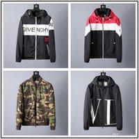 zip mens hoodies ceket toptan satış-15 STYLE yeni Tasarımcı Kış erkek GC Siyah aşağı ceket Zip Sıcak Kalın Yüksek Kaliteli Hoodie Rahat Gevşek Erkek Ceket Kaban yüksek kalite jacke