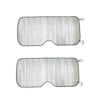 Wholesale uxcell Aluminium Foil Foldable Car Window Windshield Sun Shade Visor UV Block Cover cm x cm