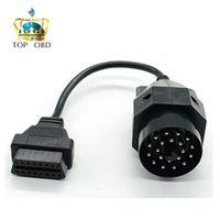 obd 16 großhandel-OBD OBD II Adapter für 20 Pin auf OBD2 16 Pin Buchse e36 e39 X5 Z3 für 20 Pin