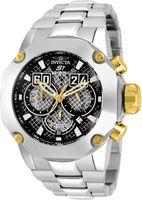 relógios profissionais venda por atacado-Assista Movimento Japão Quartz 52 milímetros de INVICTA Marca S1 Rally homens de aço inoxidável Modelo 19429 Professional Serviço Para Dropshipping