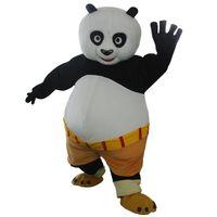 panda fantasia vestido adulto venda por atacado-Adulto kungfu panda traje da mascote kung fu panda traje da mascote kungfu fancy dress frete grátis