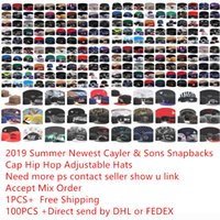 Wholesale gold hiphop hats for sale - Group buy Snapback Hats Cap Cayler Sons Snapbacks teams Baseball casual Caps Hat Adjustable caps hiphop caps Top Quality