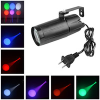 AUCD Mini 3W Single Color LED Track Light Store Art Decor Projector Spotlights Beam Lamp Home Party DJ Show Stage Lighting LE-M02