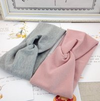 Wholesale flower knitted hats girl resale online - New Spring Autumn Baby Hat Soft Elastic Cotton Newborn Baby Girl Hat Kids Cap Bonnet Girls Hat Knit Hair Accessories Baby Gifts for Y DHL