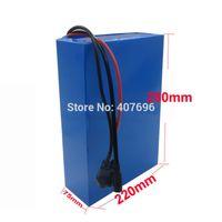 ingrosso batterie agli ioni di litio libere-Batteria da 3000 V 48 V 25 Ah Batteria agli ioni di litio 48 V Batteria ebike 48 V Cella INR 25R con caricabatterie 70A BMS 2A