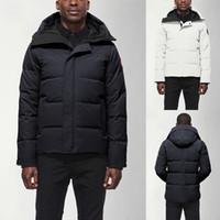 ingrosso giacca invernale della tuta sportiva-2020 di marca cappotti invernali progettista Mens Canada Parkas esterna Outerwear Manteau Slim Down Jacket Coat Hiver Parka doudoune homme