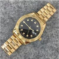 ouro da baía venda por atacado-Relogio top marca de luxo relógio homens calendário black bay new designer de relógios de diamantes de alta qualidade mulheres dress rose reloj mujer relógio de ouro