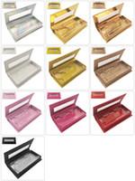 Wholesale case full makeup for sale - Group buy Custom Eyelashes Packing Boxes Gift box Lashes Package Customize Storage Cases Makeup Cosmetic Case Mink False Eyelash