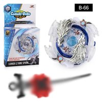 Wholesale beyblade toys online - 4D beyblade launcher arena burst toys hot erupted Beyblade beck metal blade machinery toy toupie doigt spinning top B113 B66 B117 B120