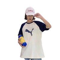ingrosso camicia dolce coreana-New Summer College Fresh and Sweet versione coreana della t-shirt da donna girocollo a collo largo