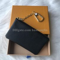 Wholesale coin purse for sale - Group buy Woman coins keys bag wallet purse holder Original Box Serial number fashion