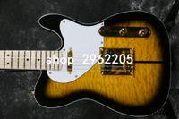 Wholesale hardware store resale online - Korean factory store Custom Shop TUFF DOG TL Signature electric guitar gold hardware set in joint