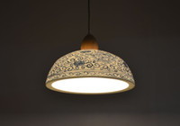 Wholesale blue white china lamps for sale - Group buy china pendant light blue and white porcelain suspension lamp restaurant hotel store shop office loft dinning room ceramic lights LLFA