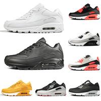 Wholesale blue school shoes girls resale online - classic mens running shoes s triple white black for men women school youth boys girls designer sneakers trainers