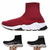 ingrosso off white bag-Balenciaga socks and shoes air jordan off white slipper vepormax nmd basketball vans men shoes ​​Trainer Oreo Flat Fashion Socks Stivali Designer Uomo Donna Sneakers con
