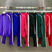 Wholesale zipper zip resale online - 2020 mens womens tracksuit Sweatshirts Suits men track sweat suit coats man jackets coat hoodie sweatshirt Sportswear