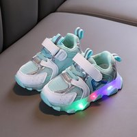 Wholesale children toddler shoes lights for sale - Group buy Kids Shoes Baby Boys Girls Sneakers With Light LED Glowing Sports Toddler Children Boy Sneakers Chaussure Tenis Infantil