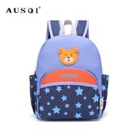 780f43bbf AUSQI Cute Bear Children Toddler Bolsas para preescolar, mochila pequeña  para niños y niñas para niños de Kindergarten Estrellas infantiles Bolsas  de libros