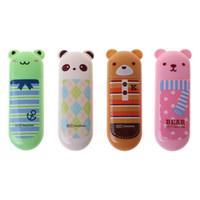 каваийская лента оптовых-Cute Cartoon Animal Correction Tape School Office Supply Kawaii Stationery Gift