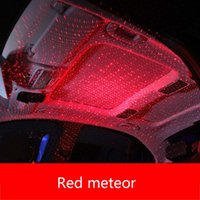 Wholesale red strip car interior for sale - Group buy Car Styling USB LED Car Atmosphere Star Light DJ Music Sound Lamp Christmas Interior Decorative Light