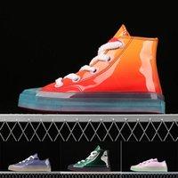 ingrosso scarpe da tennis in pelle verniciata-2019 di alta qualità Chuck 70s OX JW scarpe di tela Jelly 1970s in vernice high-top 1970 Scarpe da corsa per il tempo libero Scarpe sportive 35-46
