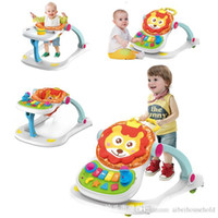Wholesale early educational machine for sale - Group buy Baby Walker First Step Toddler Learning Walking Tools Sit to stand Walker For Kid S Early Educational Adjustable Baby Music Car
