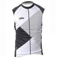Wholesale ktm racing jersey for sale - Group buy 2019 KTM Summer Cycling Jerseys sleeveless Shirts men Bicycle Clothing Maillot Ropa Ciclismo Racing Bike Clothes