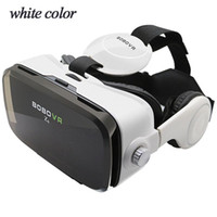 Wholesale DSstyles Z4 Leather D Cardboard Helmet Virtual Reality VR Glasses Headset Stereo Box