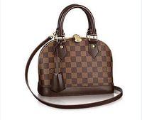 Wholesale extra large ladies handbags for sale - Lou iota s vu iota tton New men women bag autumn winter fashion shell bag handbag women s cross shoulder bag
