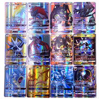 Wholesale mega pcs for sale - Group buy 25 GX MEGA Shining Cards Game Battle Trading Cards Game Children Pokemons Cards Toy T191021