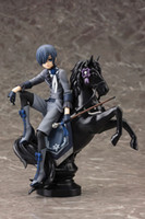 Wholesale ciel toy for sale - Group buy Black Butler Book of Circus Kuroshitsuji Ciel Seb Anime Figures Action Figure Collectible Toys Birthdays Gifts Doll New Arrvial Hot Sale