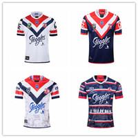 fútbol australiano al por mayor-Sydney Roosters 19 20 Australian Rooster Rugby Jersey Home Off Sudadera 2019 2020 Australian Football Club Jersey S-3XL