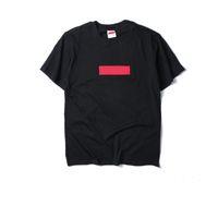 bio-bekleidung designer großhandel-Mode Marke T-Shirt Herren Designer T-Shirts Stickerei Brief drucken Männer Casual Rundhals Frauen T-Shirt Shirts Sommer T-Shirt Top