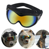 Wholesale pet dog sunglasses resale online - Dog Glasses Fashion Pet Sunglasses Dog Glasses Pet Windproof Waterproof Eyewear Protection Goggles Anti UV Sunglasses Customized DBC BH3376