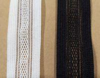 ingrosso archi del tessuto per i capelli-Nylon webbing sleeves Elastic Ribbon Elastic Fabric Fascia per capelli Arco per capelli Nastro da Cucito Trim Applique J12572-17 Merletto Spedizione gratuita