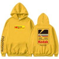 casacos de inverno japoneses venda por atacado-Japonês Hip Hop Inverno casaco de lã Com Capuz Harajuku kodak Casacos Homens Mulheres Camisolas Dropshipping Novo 2019 Venda Quente Hoodies
