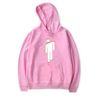 ingrosso pullover kpop-Hip hop Billie Eilish Streetwear Felpe con cappuccio Abbigliamento popolare / uomo 2019 Harajuku Casual Felpe Kpop felpa Felpe oversize