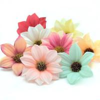 Vente En Gros Tetes De Fleurs Artificielles Bon Marche 2019 En Vrac