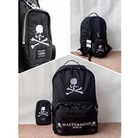 комбинированный рюкзак оптовых-Mastermind Skull Рюкзаки Большие и Маленькие Комбинации Высококачественная сумка большой емкости Хип-хоп Джастин Бибер Сумки Mastermind